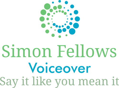 British Voiceover Artist, Simon Fellow's Logo